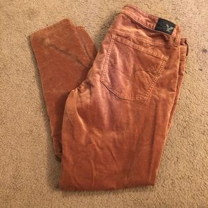 American Eagle Outfitters AEO Velvet jegging